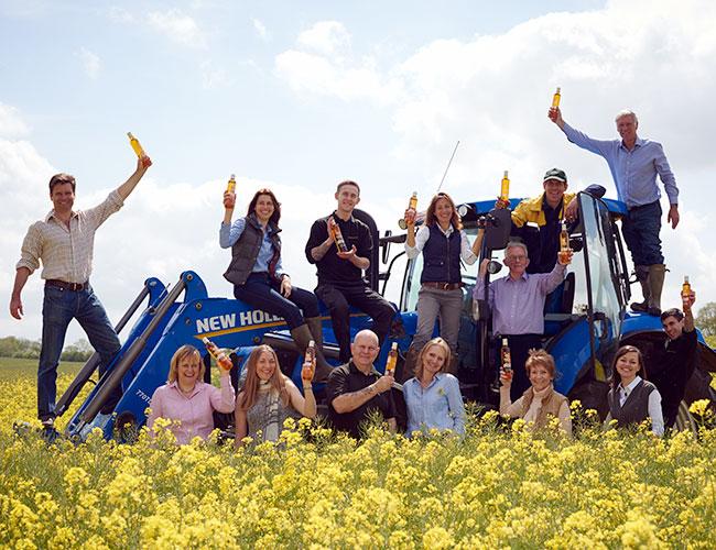 The Farrington Oils team in Northamptonshire