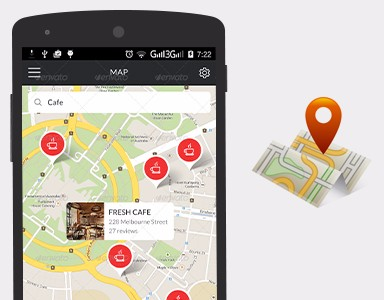 I can implement open-street offline map on your android app