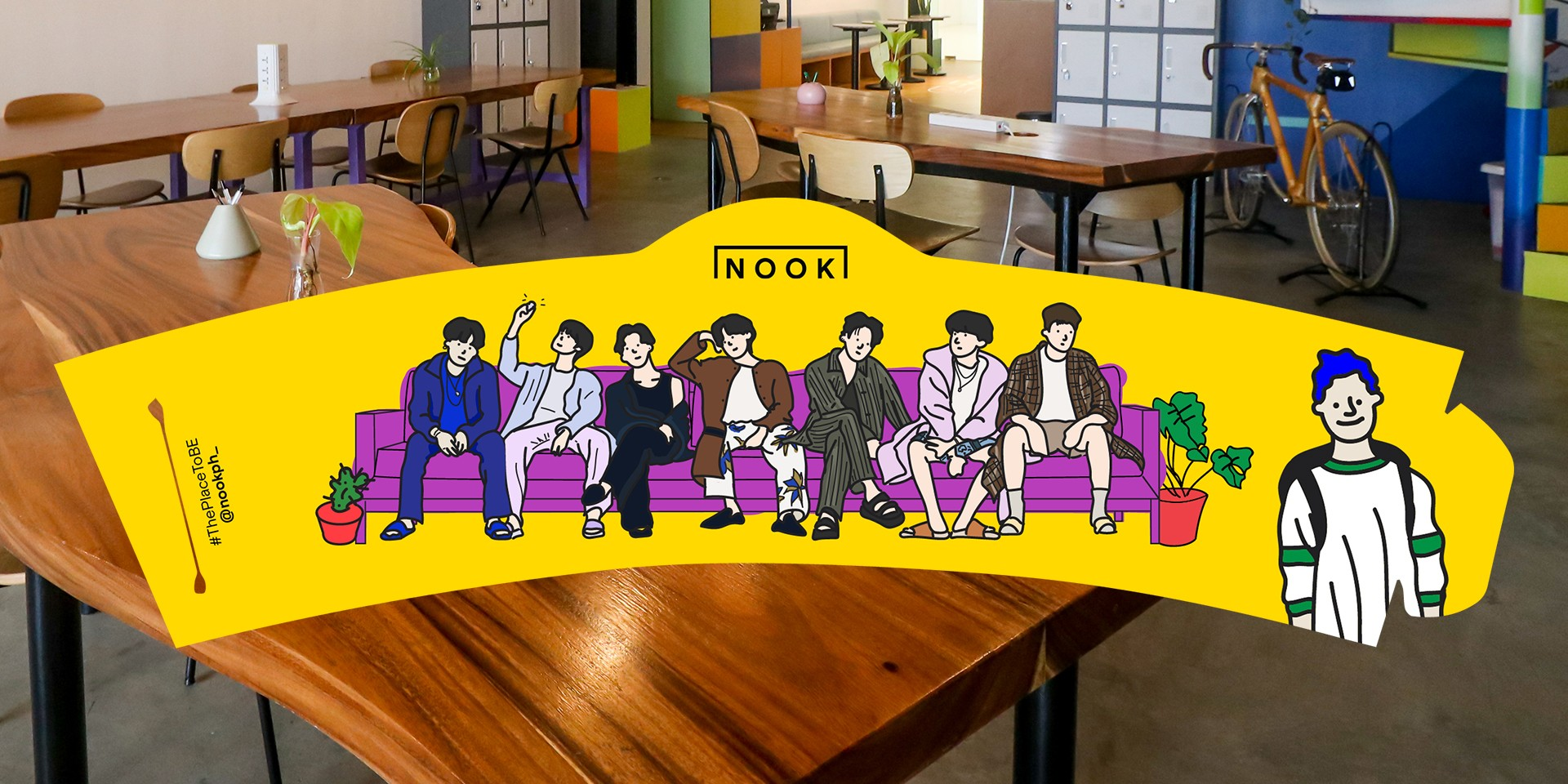 NOOK Coworking Studio is throwing a listening party for BTS' new album, BE