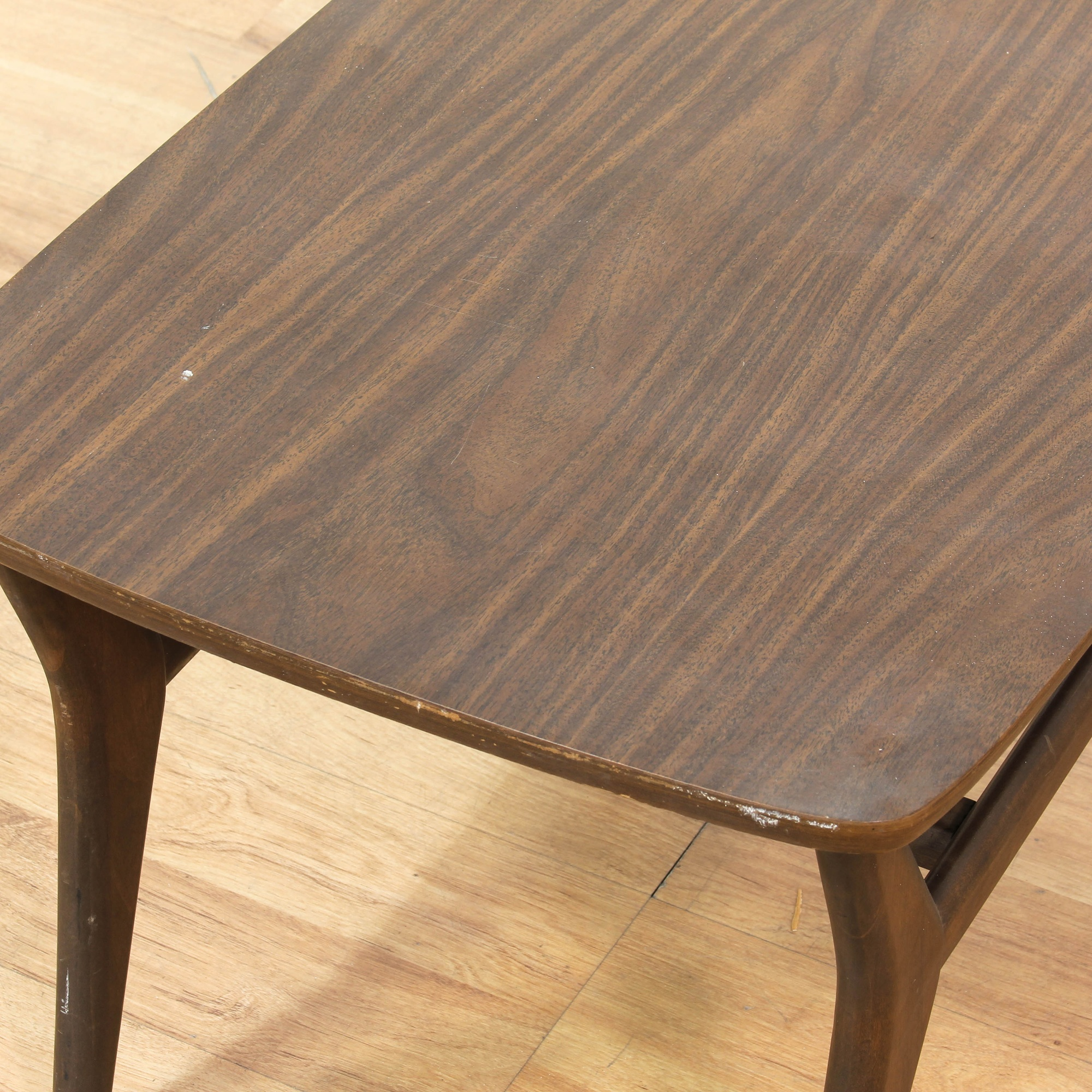 Mid Century Small Rectangular Coffee Table