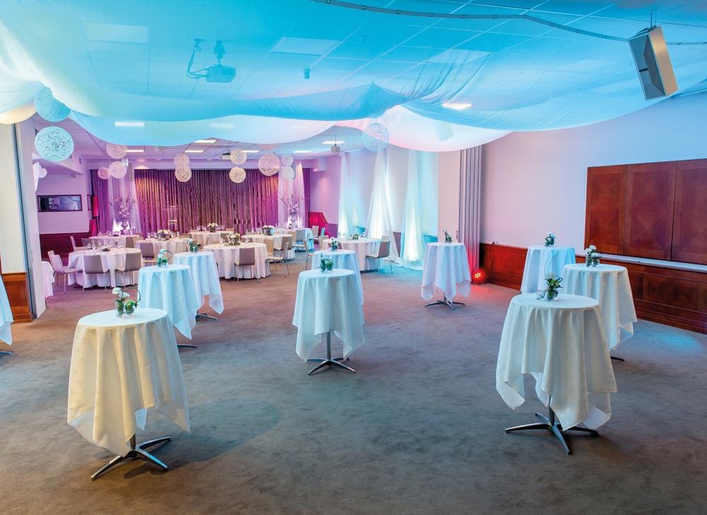 Fest och middag på Hotel Riverton i Göteborg