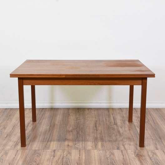 """Brdr. Furbo"" Danish Modern Dining Table w/ Leaves"