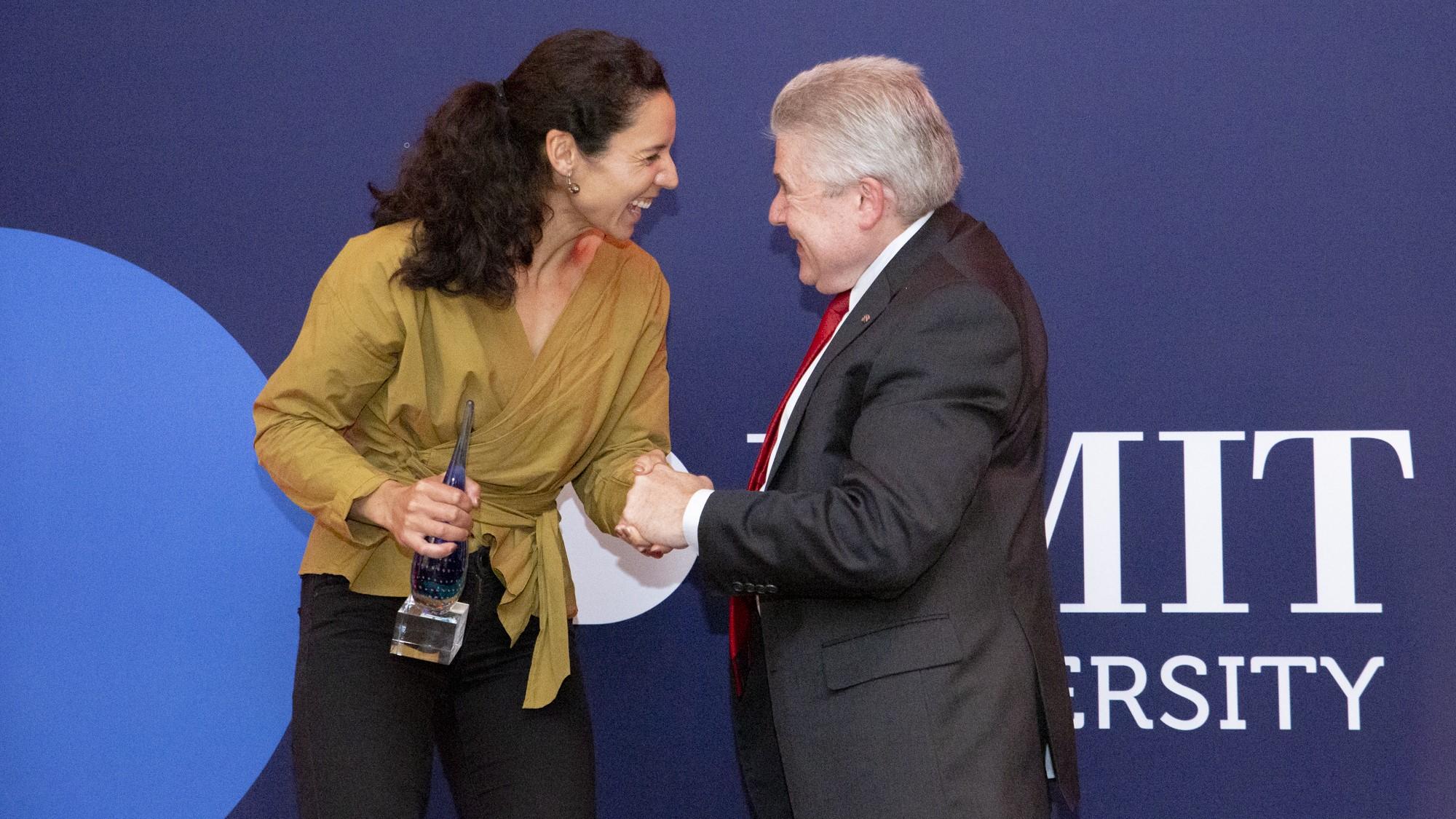 Christine Nunn named RMIT University Athlete of the Year