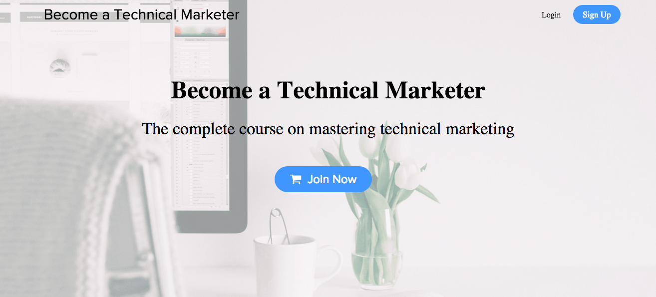 Become a Technical Marketer