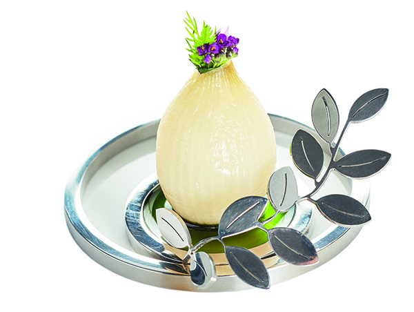 Braised onion