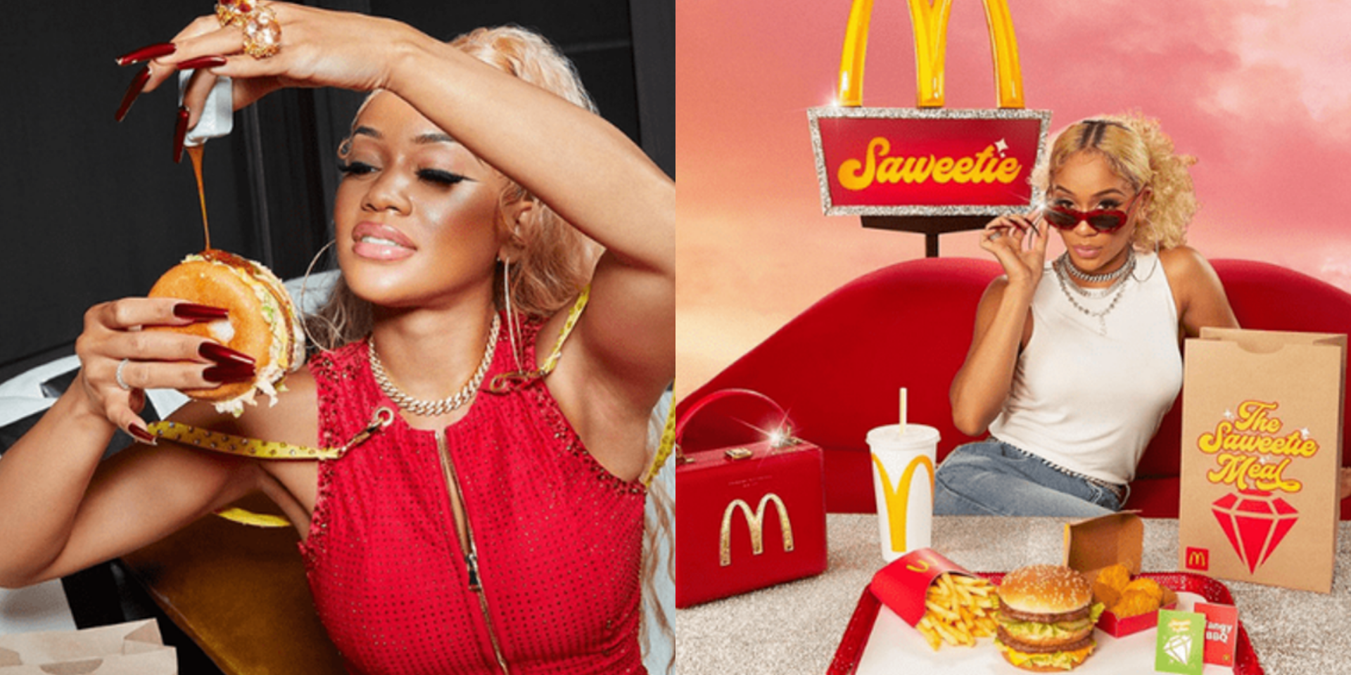Saweetie to launch 'The Saweetie Meal' in the US
