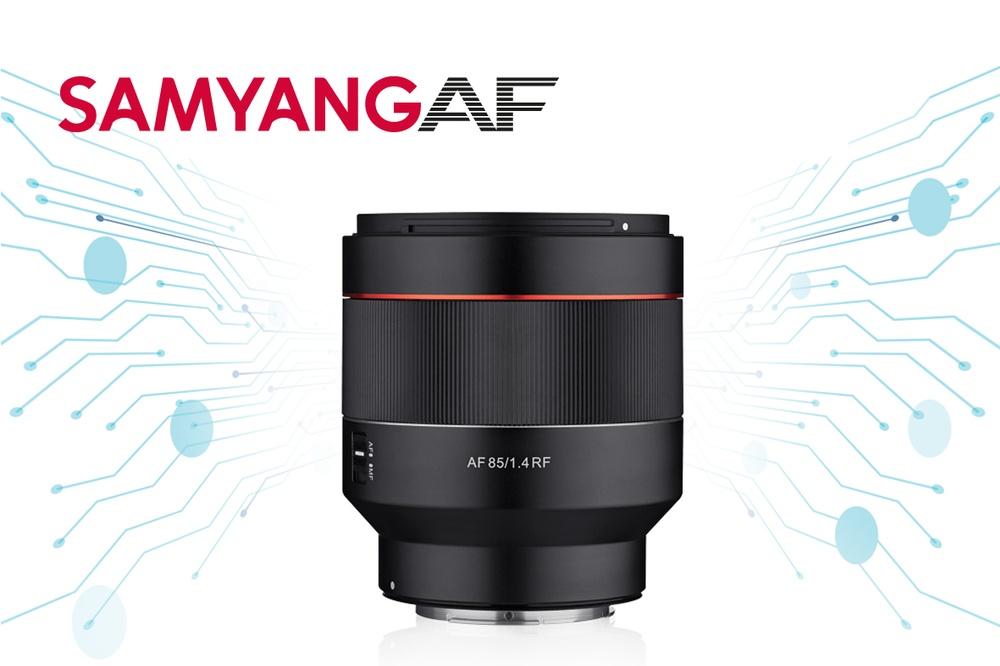 Samyang lanserar en AF 85mm F/1.4 för Canon R