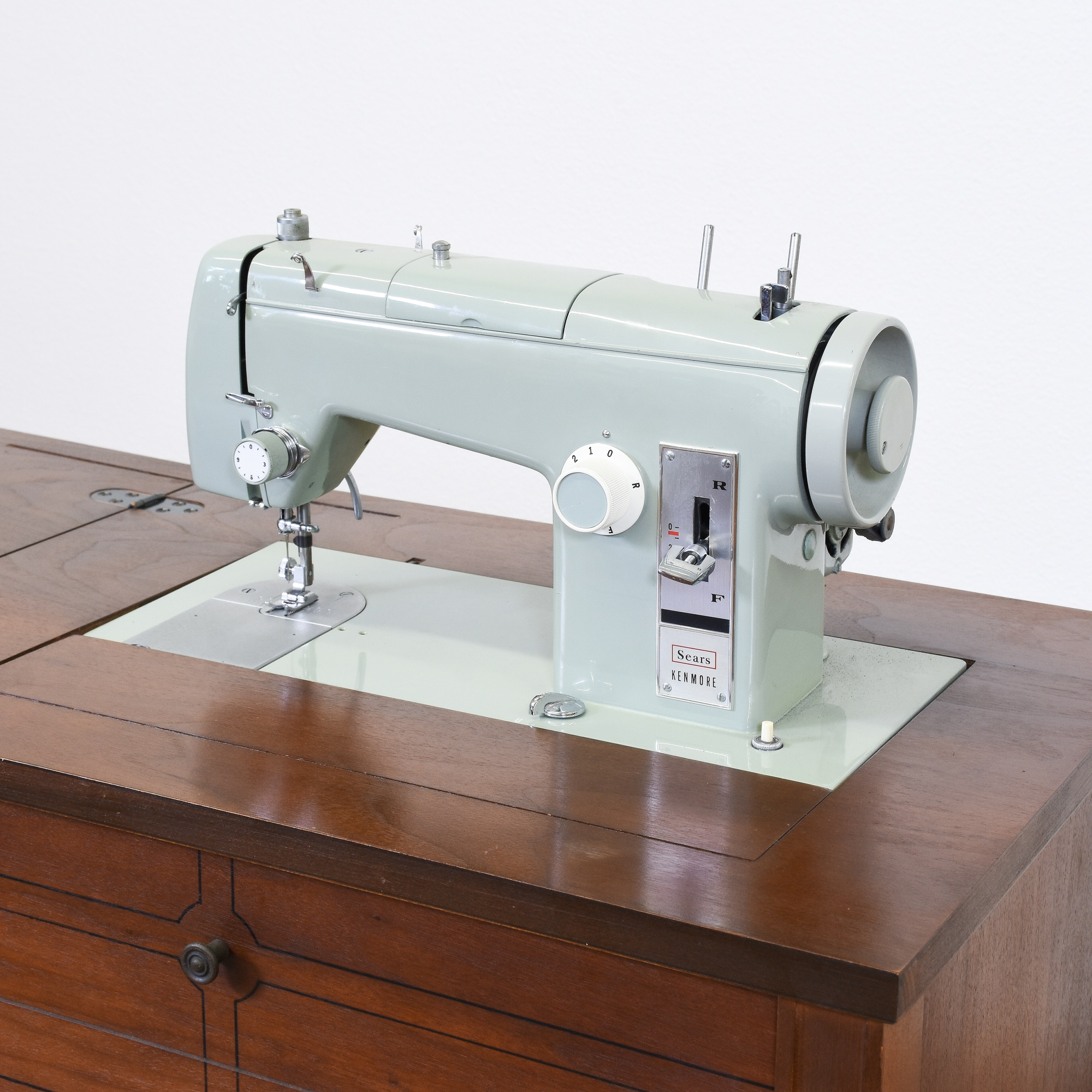 Quot Sears Kenmore Quot Fold Out Sewing Cabinet Table Loveseat