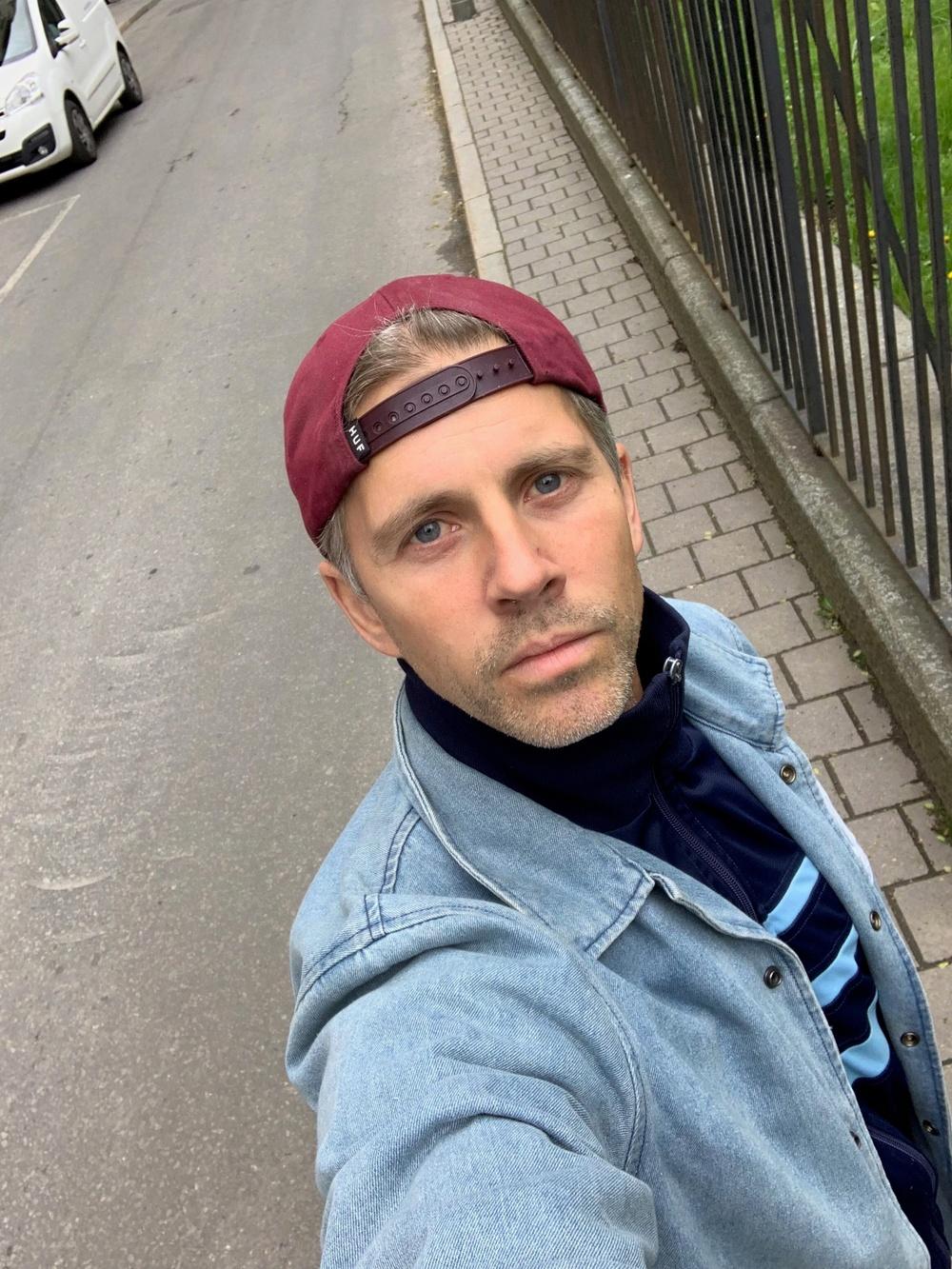 Selfie Fredrik Benke Rydman.