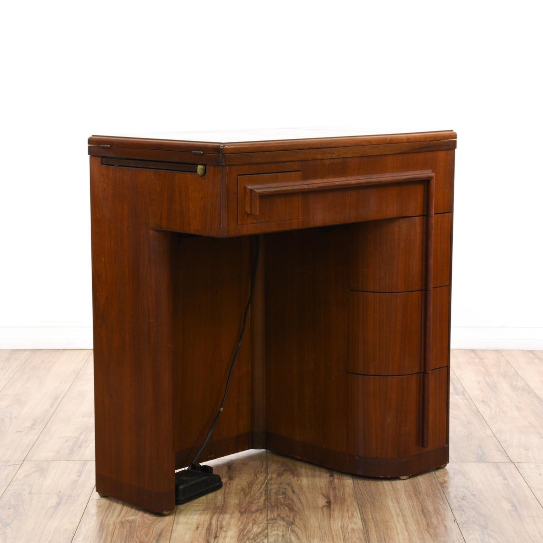 deco sewing machine cabinet
