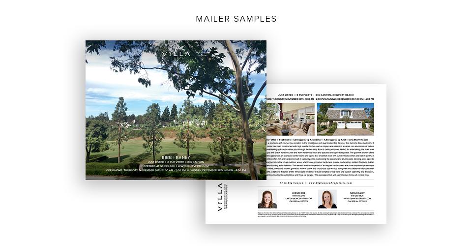 Mailer Samples