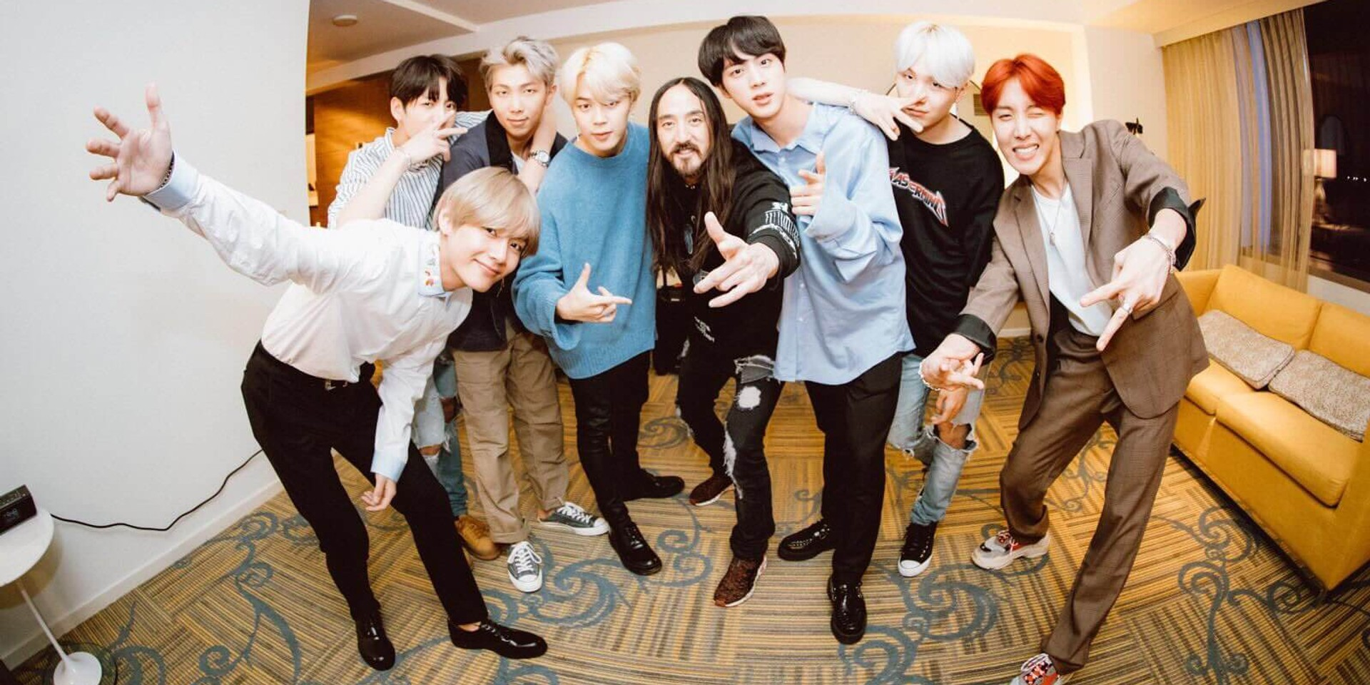 Steve Aoki thanks BTS and fans with Celebration Megamix for 1 billion views of 'Mic Drop' remix on YouTube