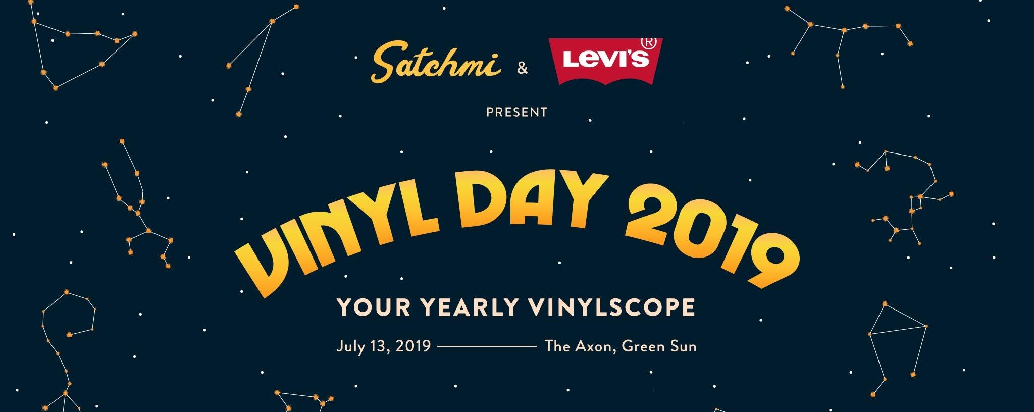 Satchmi Vinyl Day 2019