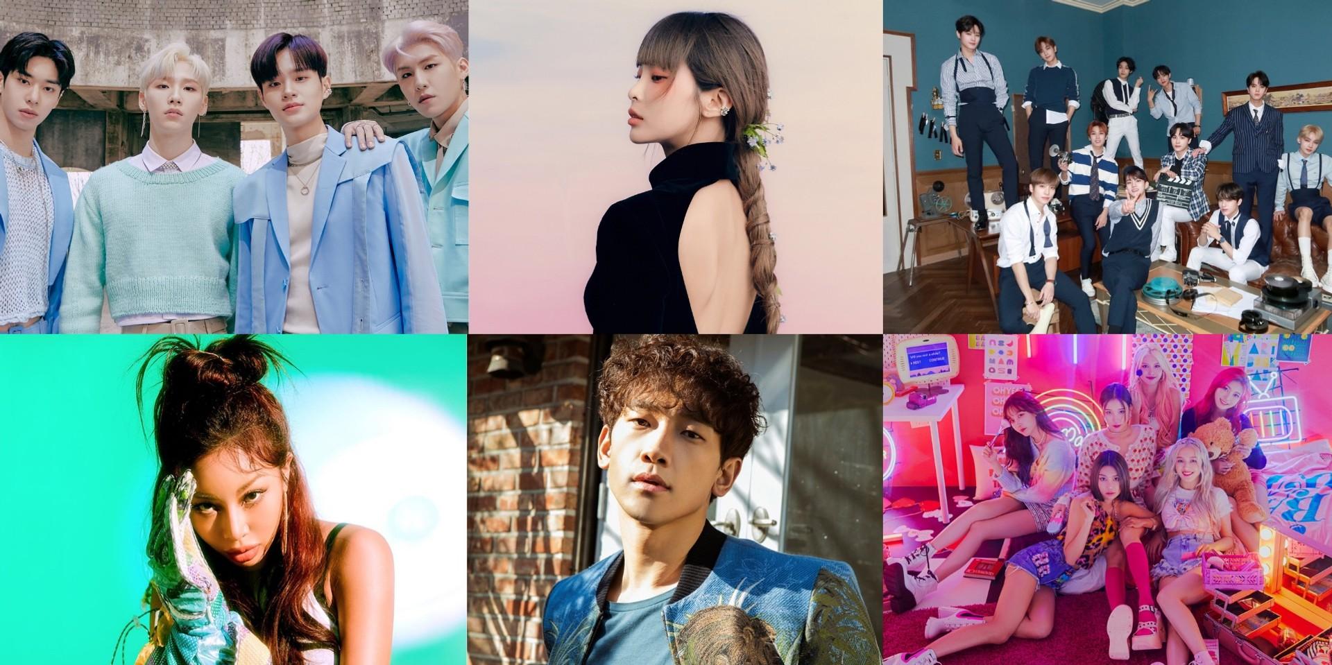 THE BOYZ, Heize, Rain, MOMOLAND, Jessi, AB6IX, and more to perform at K-Pop SuperFest virtual festival