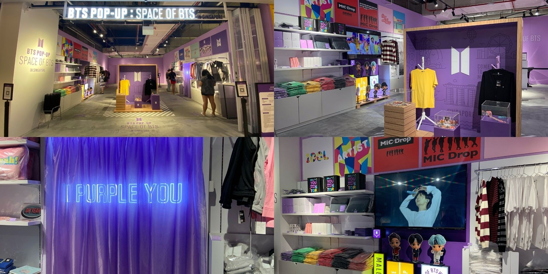 The BTS POP-UP: SPACE OF BTS arrives in Singapore — here's all you need to know