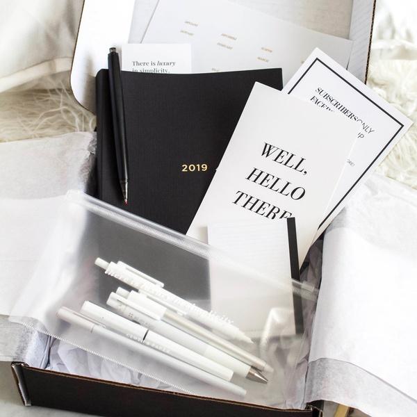 September 2018 Stationery and Penspiration Box