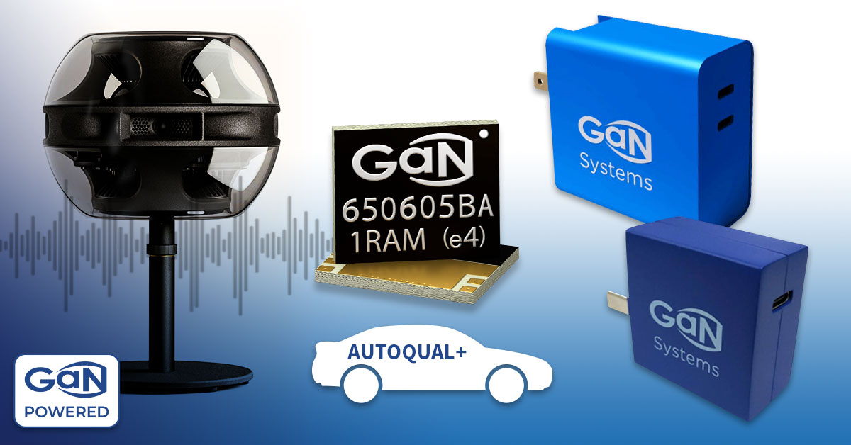 GaN Systems Paves the Way for Power Electronics Innovation at APEC 2021