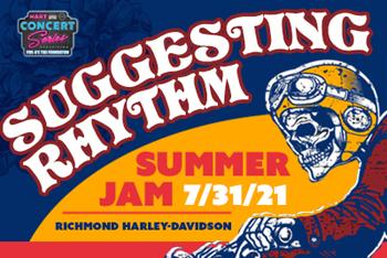 FOTF - Suggesting Rhythm - July 31, 2021, doors 5:30pm