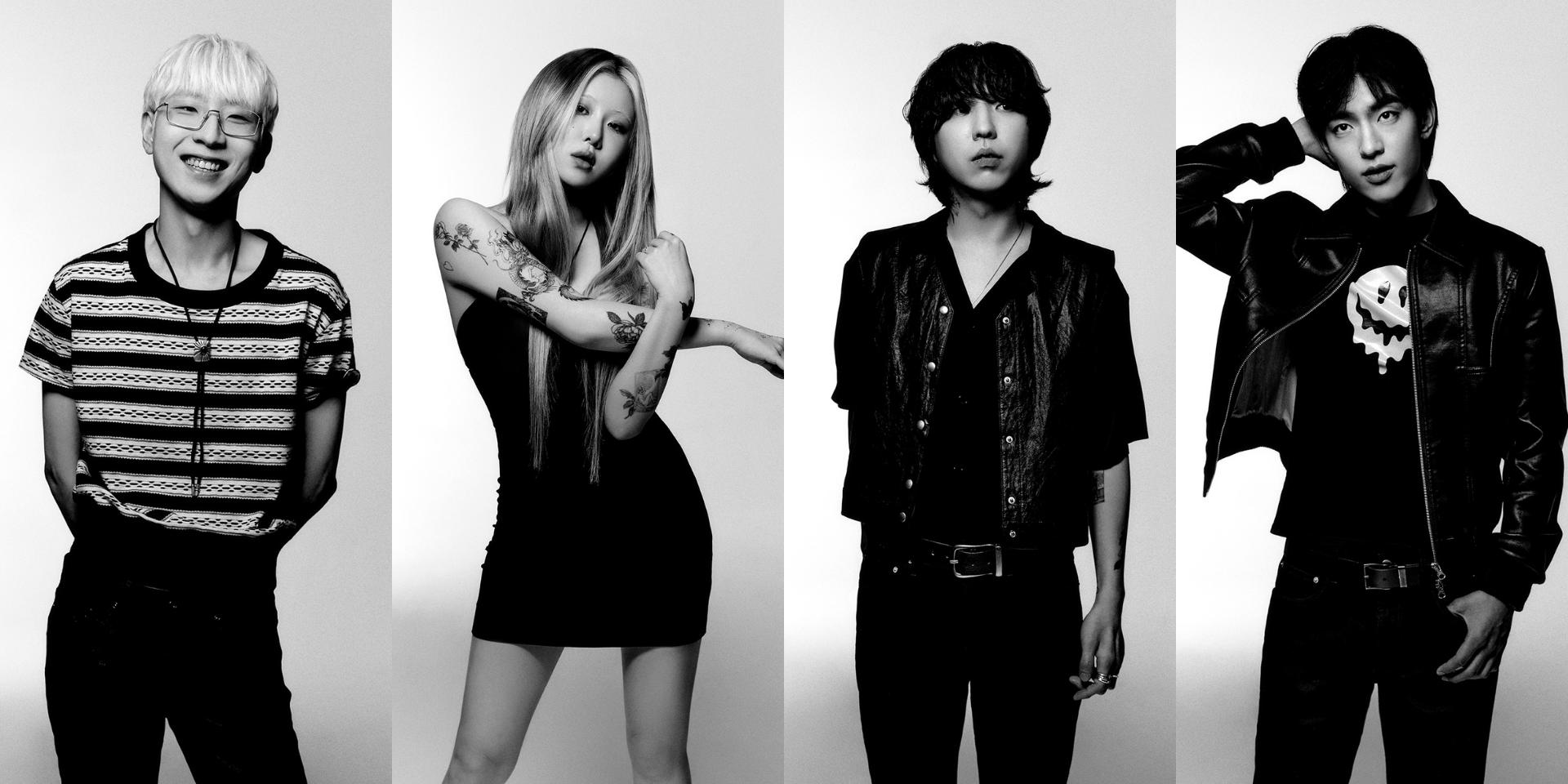 Yerin Baek's rock band 'The Volunteers' to drop debut album this month