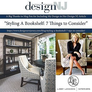 Design New Jersey: Styling A Bookshelf: 7 Things to Consider