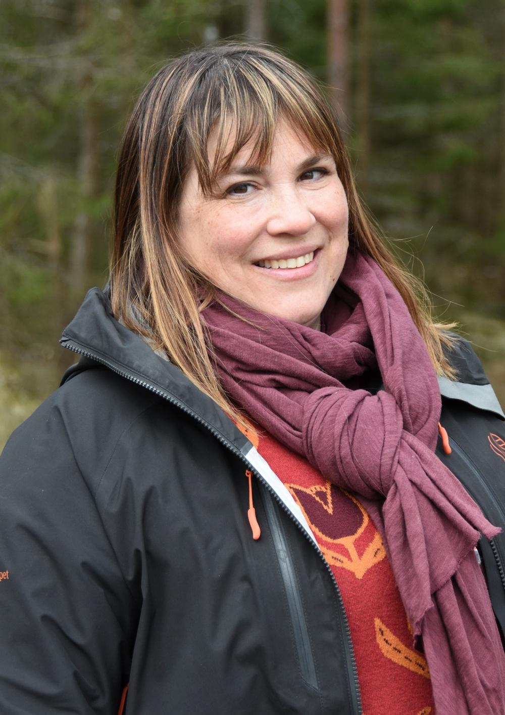 Karin Fällman Lillqvist, hållbarhetschef på Skogssällskapet. Foto: Ulrika Lagerlöf/Skogssällskapet