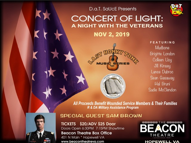 BT - Concert Of Light - November 2, 2019, doors 6:30pm