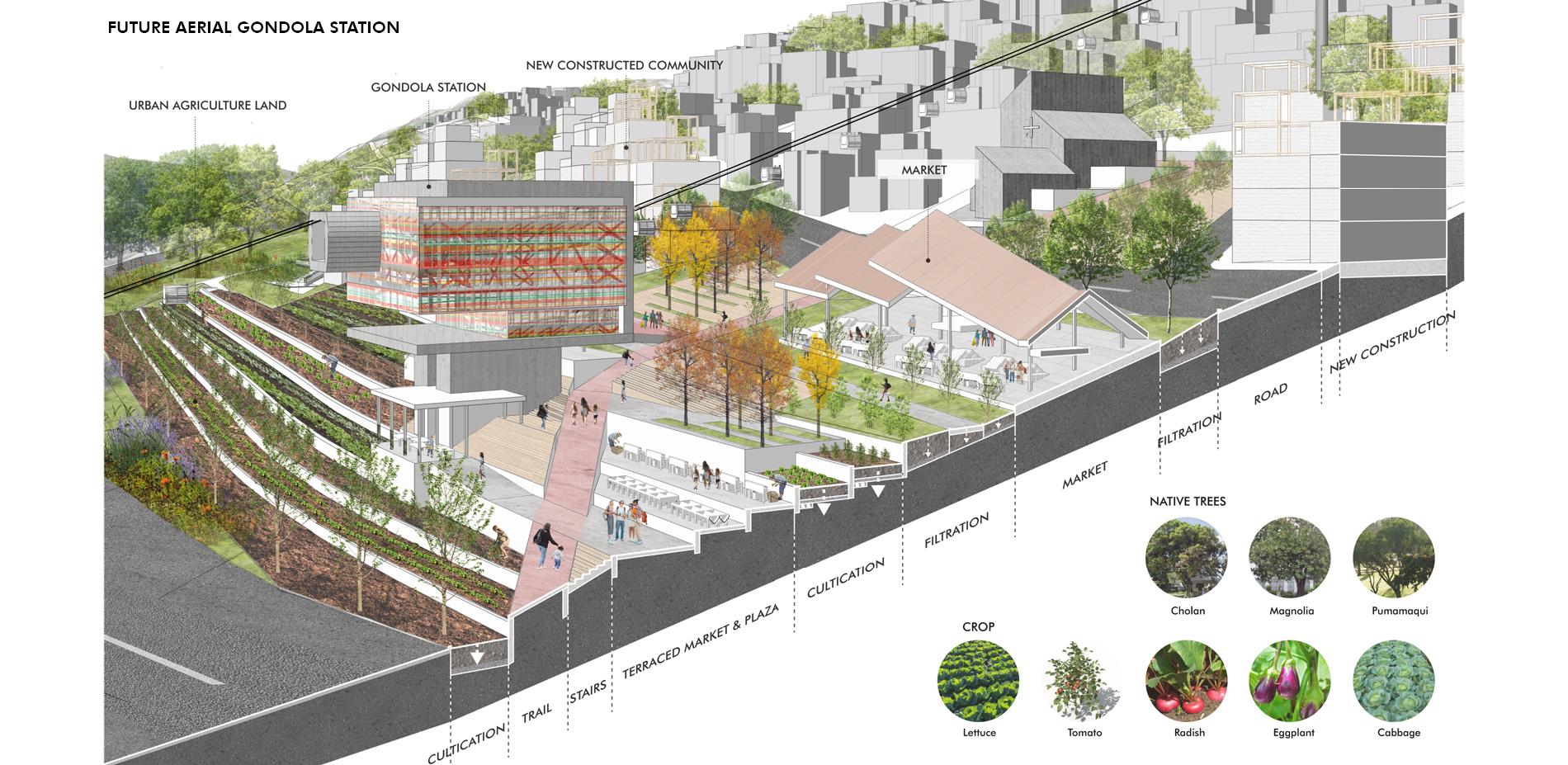 Future Aerial Gondola Station