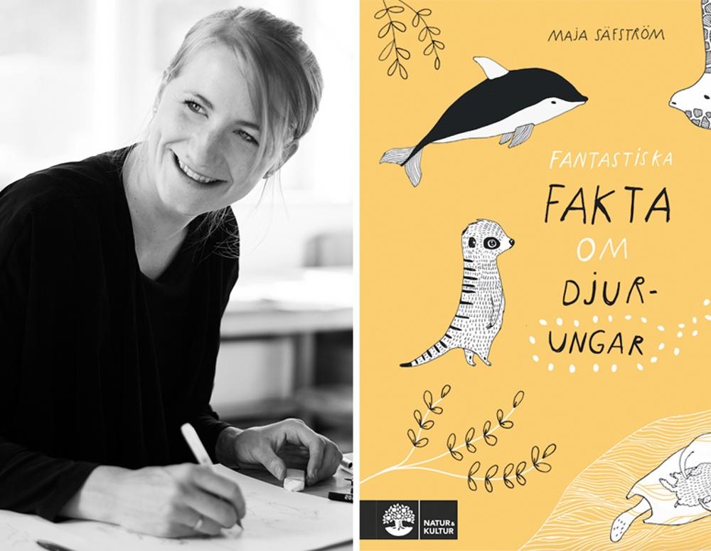 Arkitekten, illustratören och författaren Maja Säfström är årets mottagare av Carl von Linné-plaketten för bästa fackbok för barn eller ungdomar.