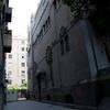 Side facade, Shaar Hashamayim (Adly St) Synagogue, Cairo, Egypt. Joshua Shamsi, 2017.