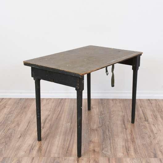 Rustic Industrial Folding Field Table