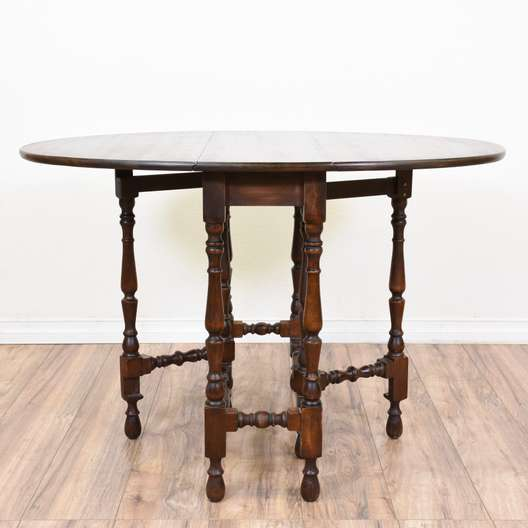Arts & Craft Drop Leaf Gateleg Dining Table