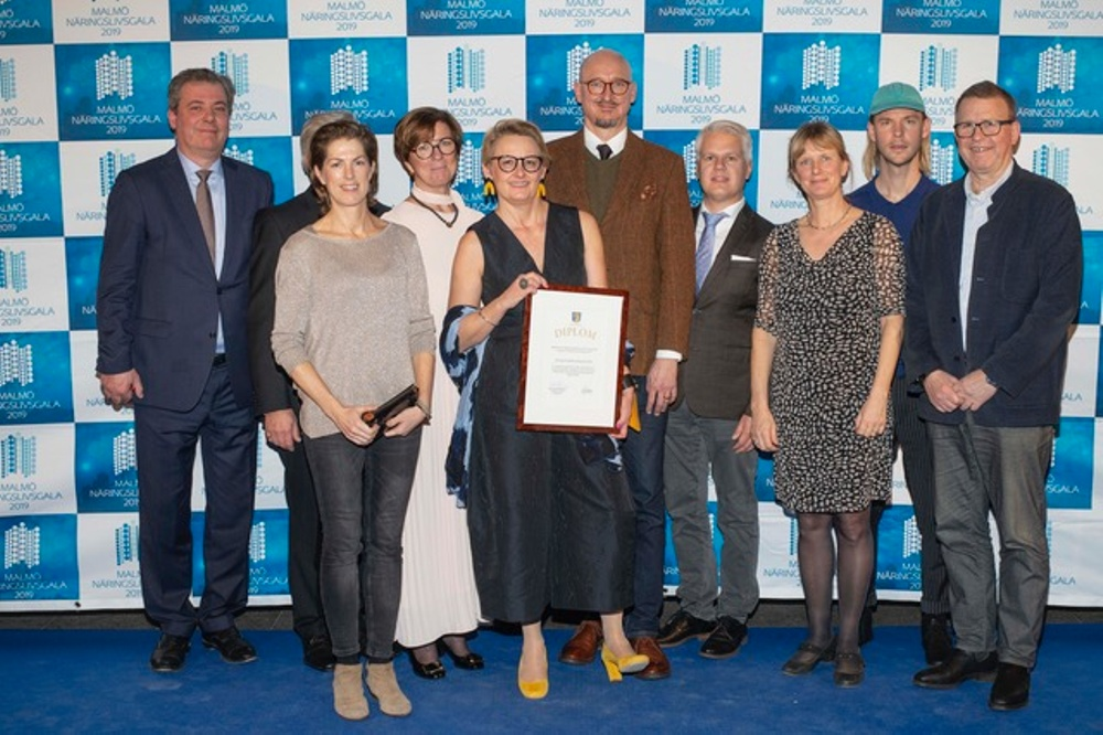 Krinova får Regions Skånes pris för synnerliga insatser för Skånes utveckling.
