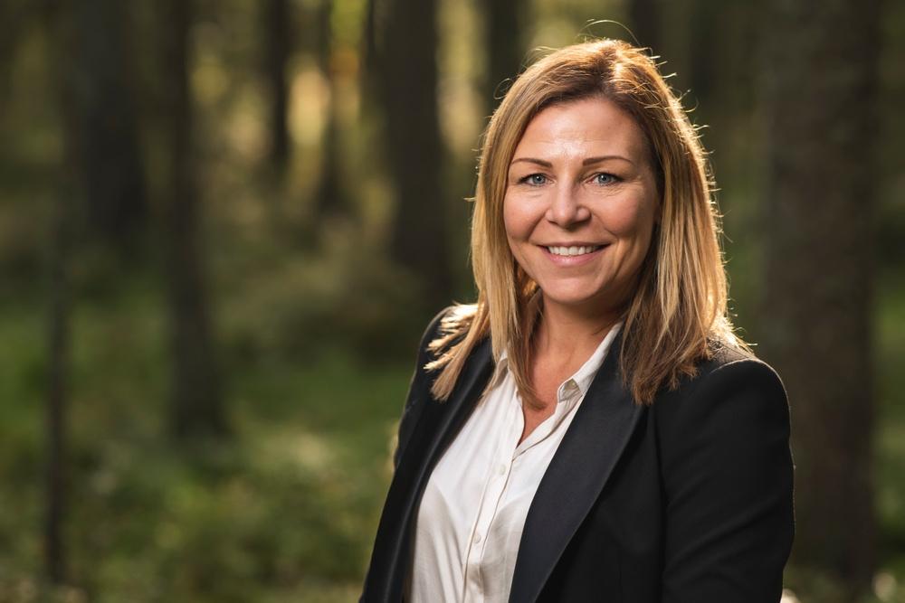 Sandra Sundbäck. Photo credit: Solsta Foto