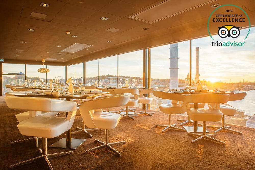 Hotel Riverton och View Skybar & Restaurant i Göteborg har tilldelats TripAdvisor Certificate of Excellence 2019
