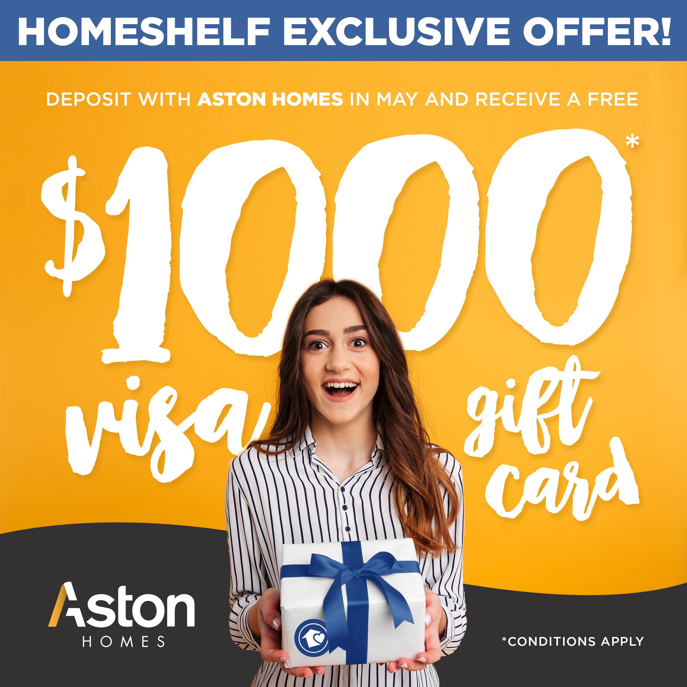 Homeshelf Exclusive Offer!