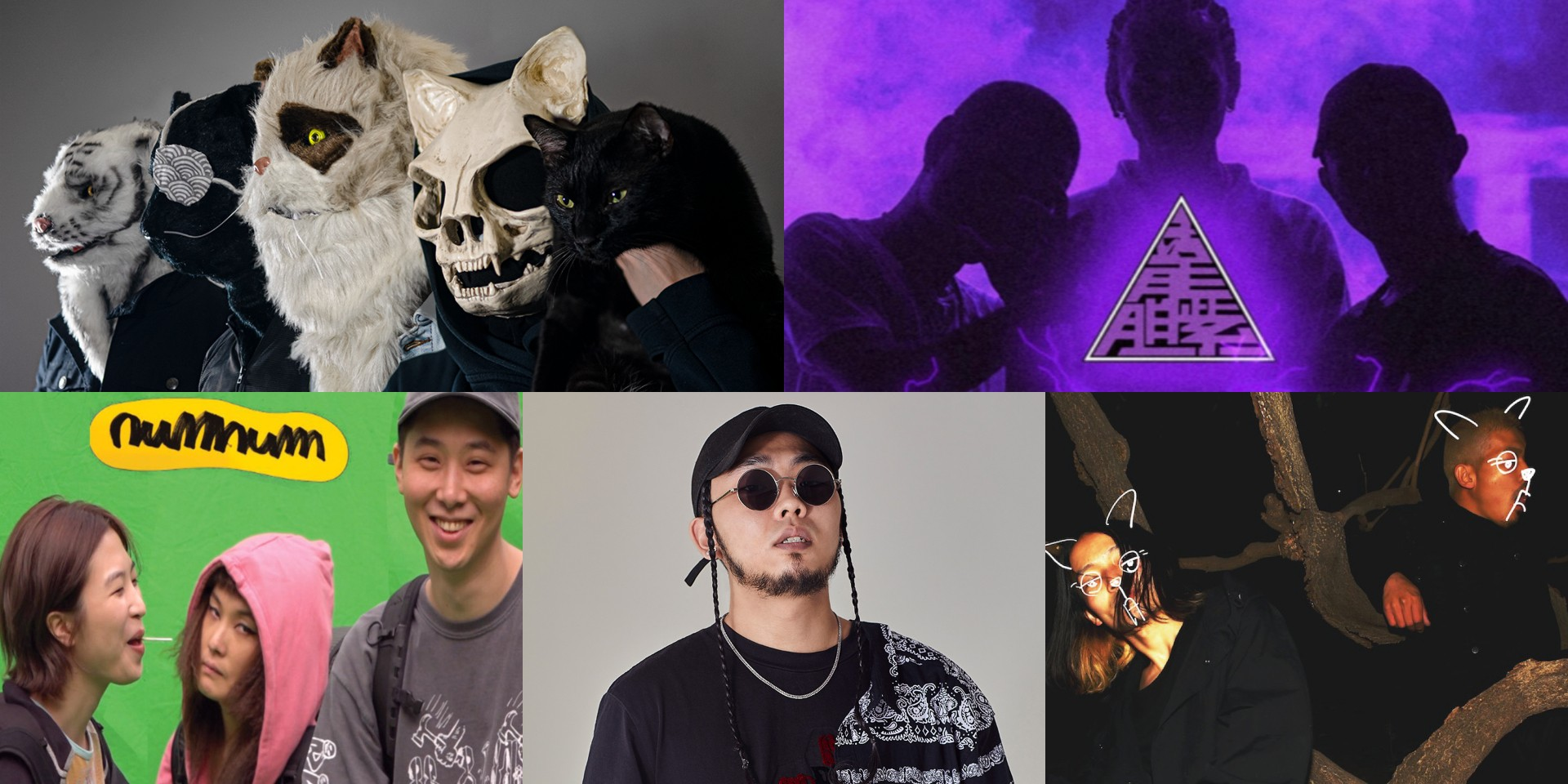 Vans Musicians Wanted Asia-Pacific top 5 finalists revealed: Ultra Mega Cat Attack from Singapore and regional finalists Num Num, H4RDY, Niko Niko Tan Tan, and PurpleSoul