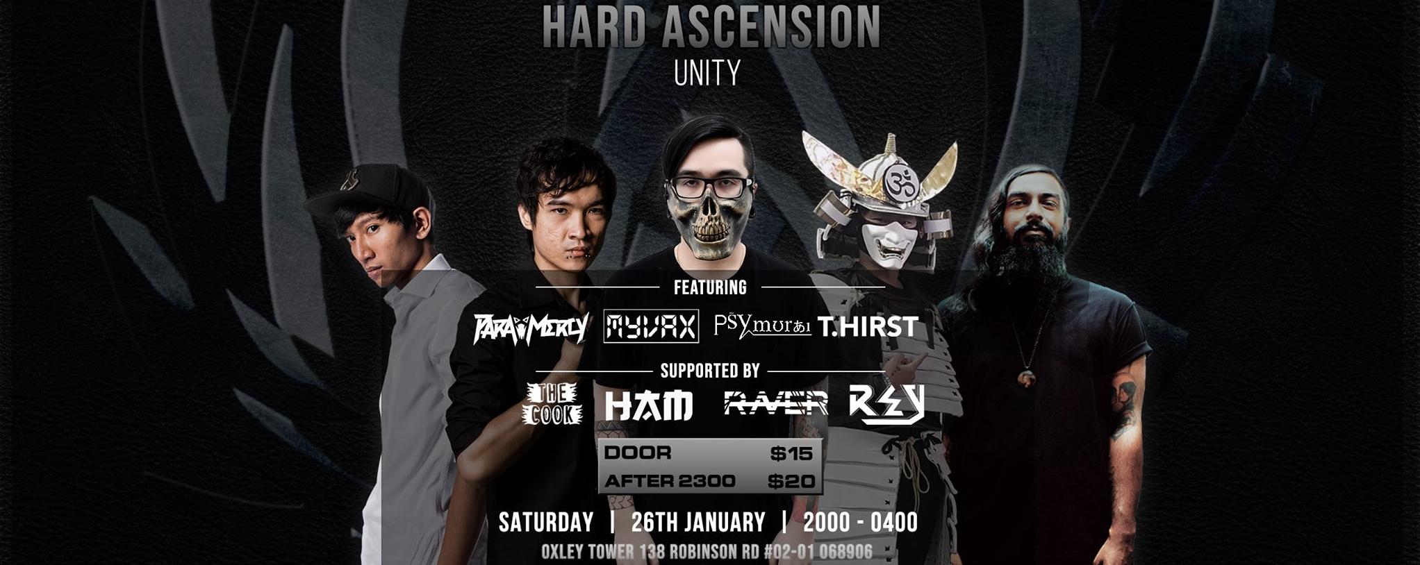 Hard Ascension Live - Unity