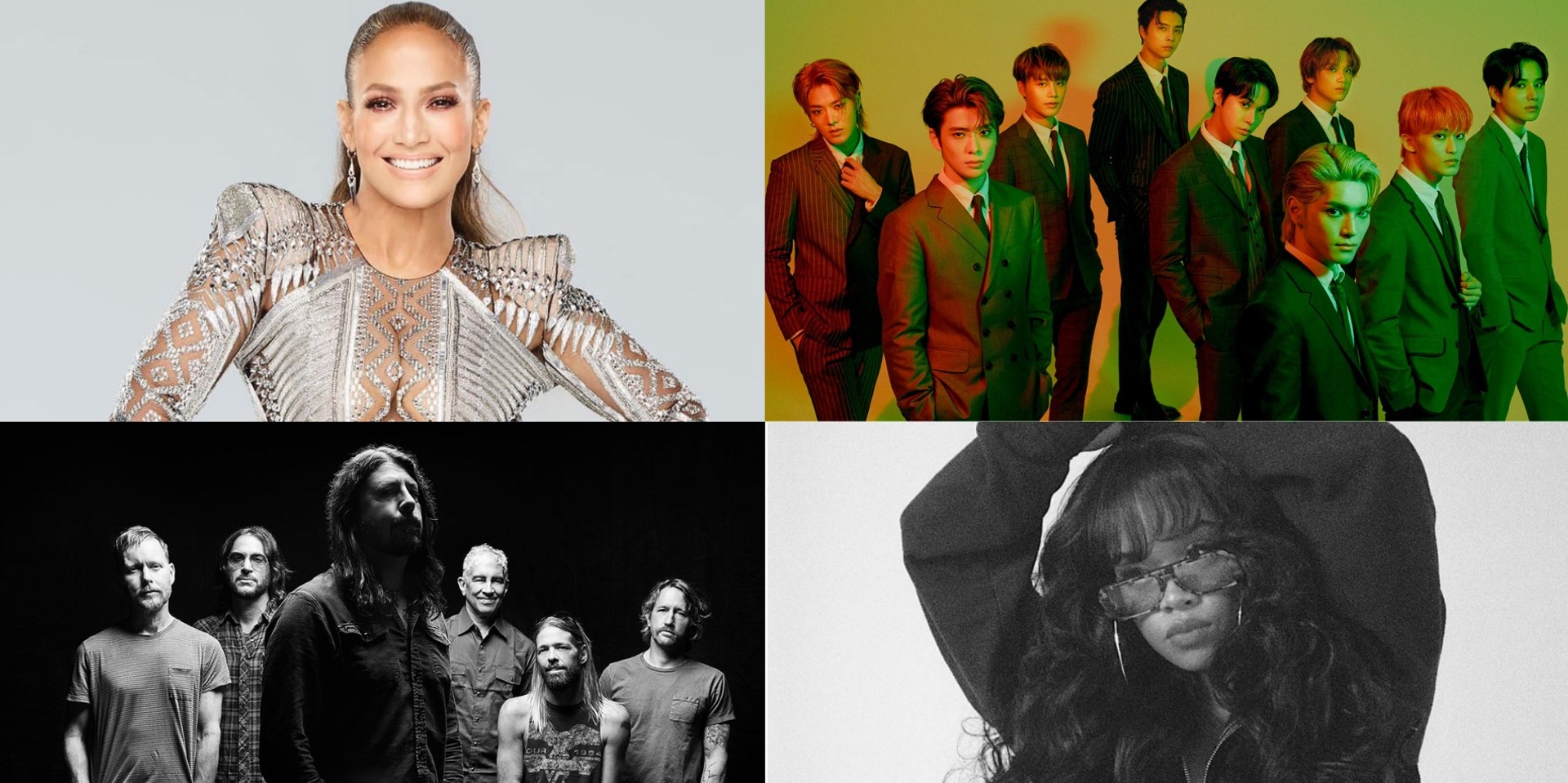 Jennifer Lopez, NCT 127, Foo Fighters, H.E.R., and more to feature in lineup for Global Citizen's 'VAX LIVE' concert