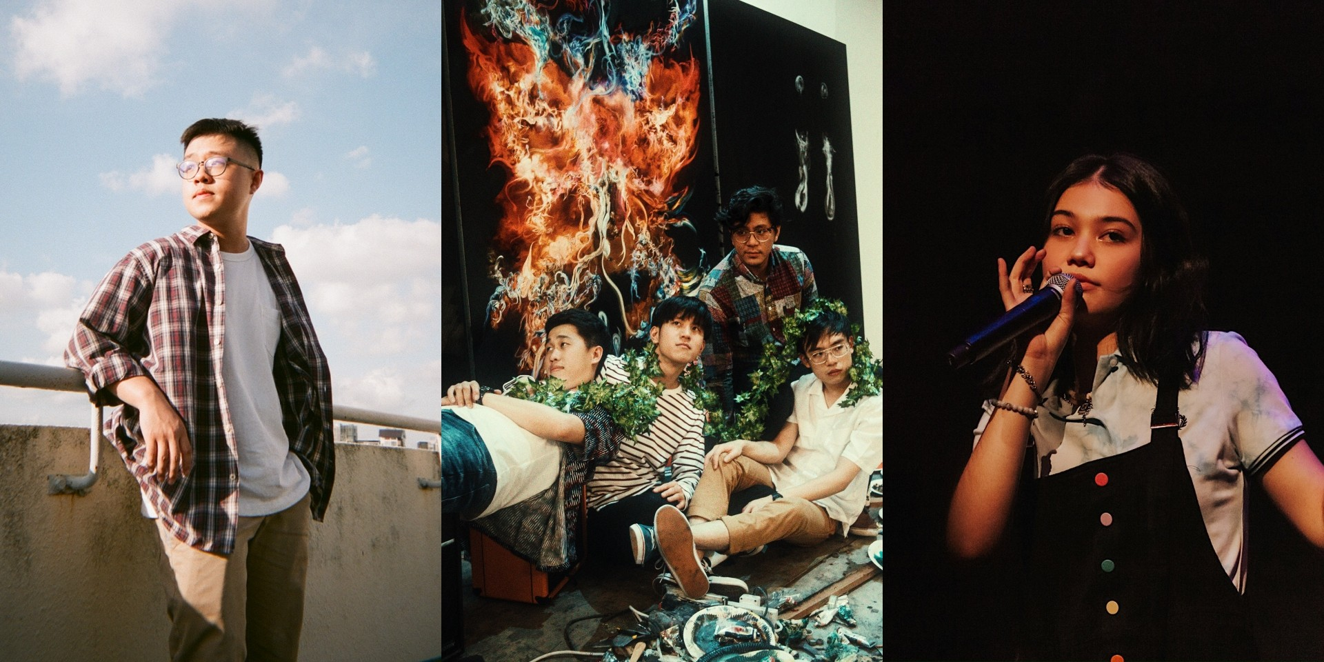 M1LDL1FE, YAØ and Shye to debut at Karaoke Livestream Concert by Bandwagon Sessions x EBX Live