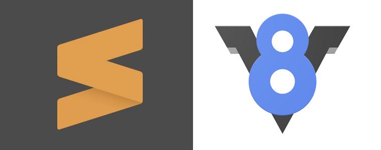 Sublime Text V8 Engine Build System