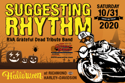 FOTF Concerts - Suggesting Rhythm - October 31, 2020, doors 5:30pm