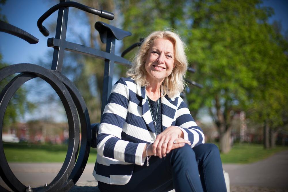 Gunilla Brynell-Johansson, vd Vätternrundan. Fotograf: Micke Fransson/Vätternrundan