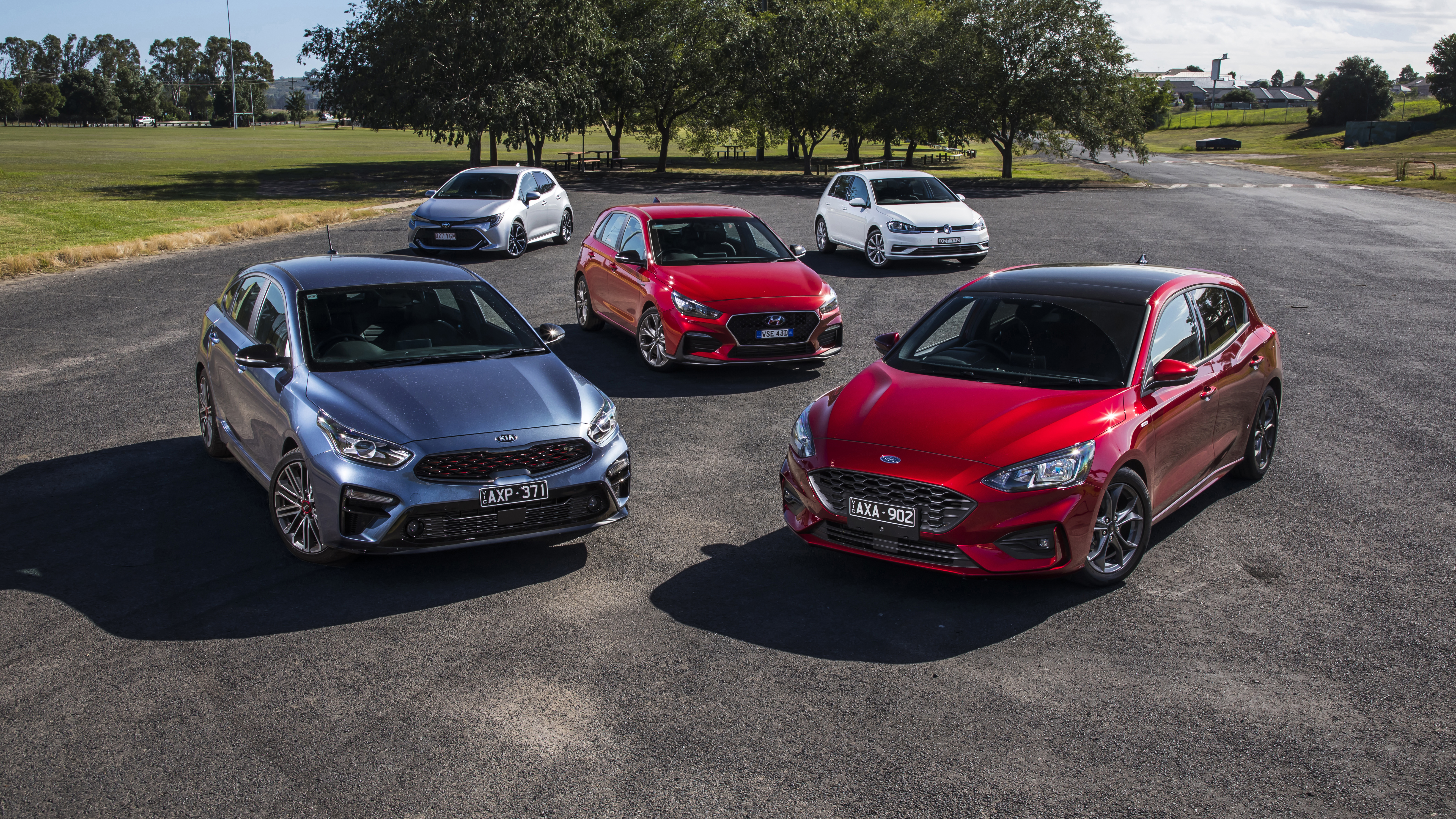 Small hatch comparison review: Ford Focus v Hyundai i30 v