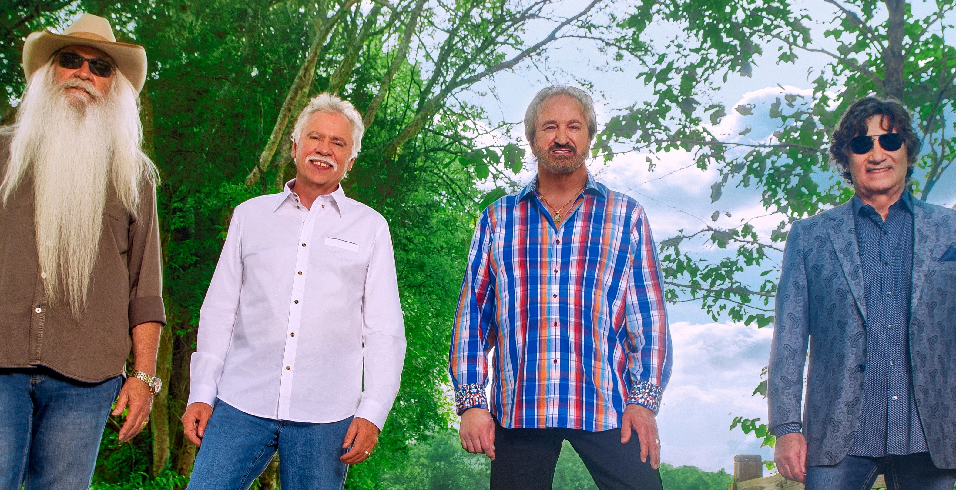 BT - An Evening with THE OAK RIDGE BOYS - August 11, 2019, doors 6:30pm