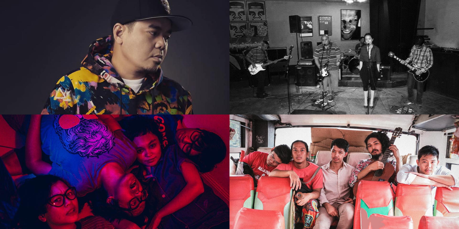The Buildings, Gloc-9, Pinkmen, Soft Pillow Kisses, and more release new music – listen