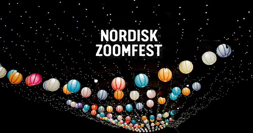 Nordisk Zoomfest, en digital berättar- och musikkväll 15 maj.