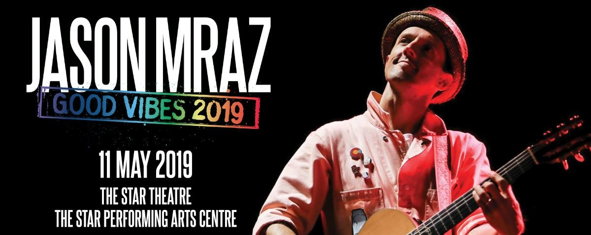 Jason Mraz Good Vibes 2019 - Singapore