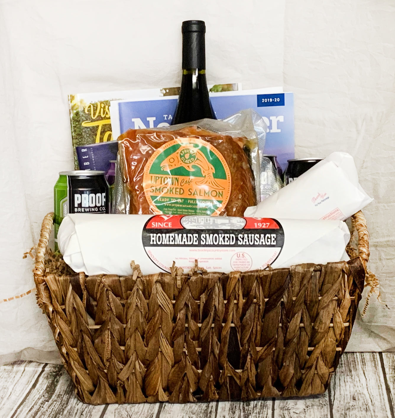 Locally Sourced Basket Ideas - Smoked Meats