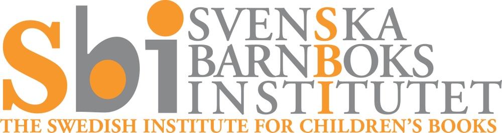 Svenska barnboksinstitutets logga. Utformad av Lennart Eng