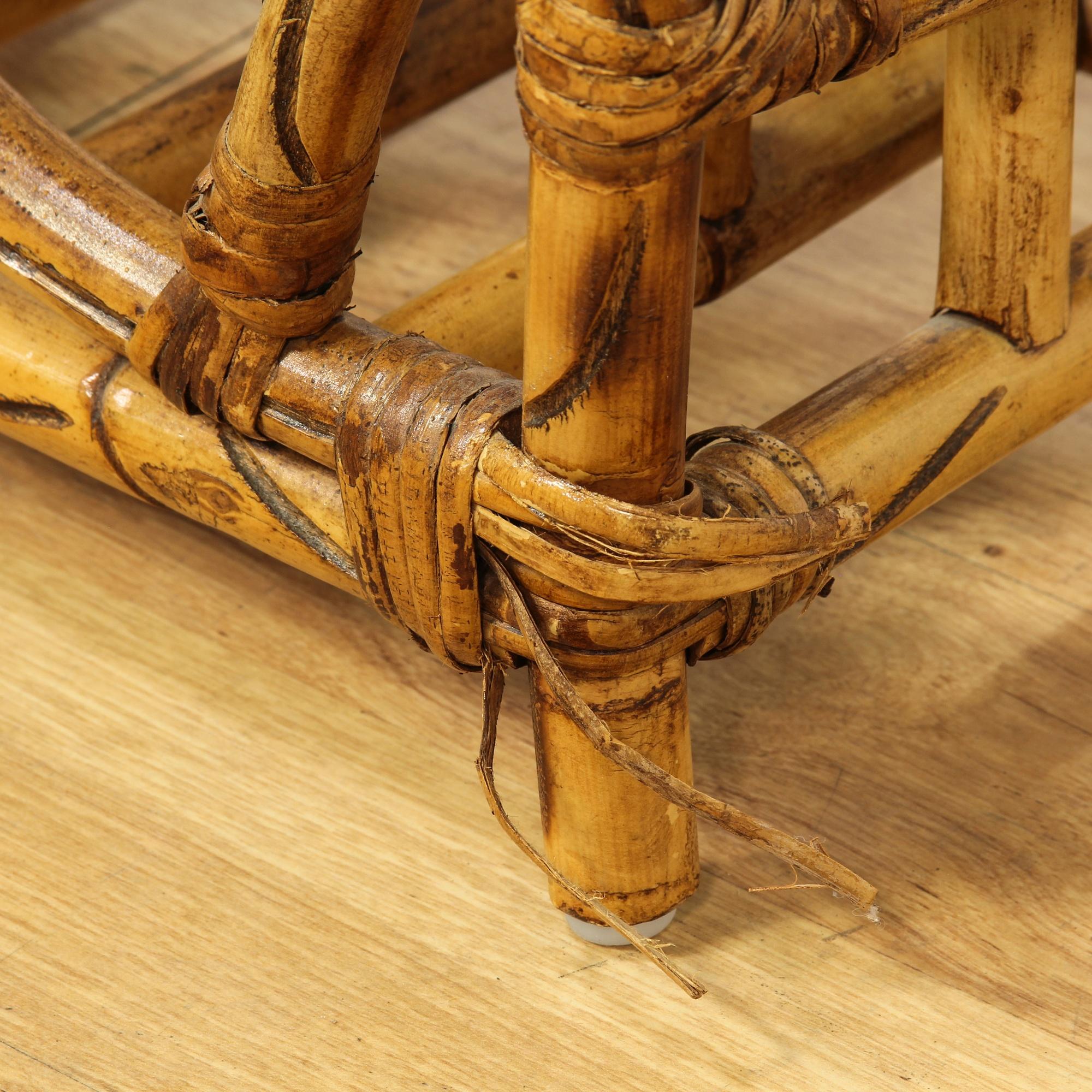 Tropical Bamboo Magazine Rack Loveseat Vintage Furniture